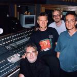 A Beautiful Struggle recording session, Studio B, June 19th 2000, Tommy Vicari, Larry, Dave Carpenter and Vinnie Colaiuta