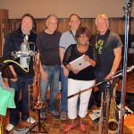 Chuck Findley (trumpet), Bill Reichenbach (trombone, bass trb), Bill Liston (tenor sax, flute), Anita, Larry (tenor sax, flute, arranger)