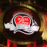 Stage backdrop, Quincy Jones / Sir Michael Caine's 80th Birthday Celebration, MGM Grand Garden Arena, April 13, 2013.