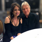 Larry and wife Denise David Williams at the Quincy Jones / Michael Caine Power of Love birthday celebration, April 13, 2013.