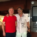 Larry Williams and Ivan Lins in Petropolis, Rio, November 2013