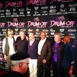 Red carpet at Guitar Center's Drum-Off at Club Nokia, Los Angeles, Jan 18, 2014 - Will Lee, Molly Duncan, Hamish Stuart, Steve Ferrone, Larry Williams, David Green