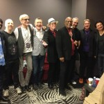 Jan 18, 2014 Guitar Center's Drum-Off at Club Nokia, Los Angeles - David Green (percussion), Oz Noy (guitar), Will Lee (bass/vocals), Hamish Stuart (guitar/vocals), Benmont Tench (keyboards), Steve Ferrone (drums), Molly Duncan (tenor sax), Larry Williams (alto sax), Steve Perry.