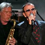 2014 Grammy Awards Larry Williams, Ringo Starr, and Larry Hall