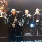 2014 Grammy Awards - Nick Lane, Larry Williams, Larry Hall, Ringo Starr