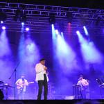 Larry Williams (on left), Al Jarreau concert, 2011