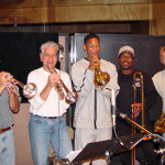 Gary Grant, Jerry Hey, actor/musician Will Smith, Reg, and Larry Williams, 2013