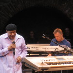 Al Jarreau and Larry Williams in Parma, Italy, July 2008