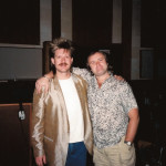 """Larry Williams and Phil Collins, 1986, Eric Clapton's """"August"""" sessions"""