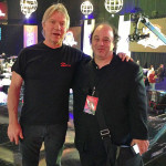 Larry and Rolling Stones music critic Dave Wild, April 13, 2013.